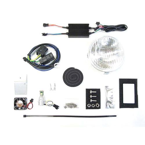 プロテック LBH-H16 クロスカブ50['18~ JA45]用 LEDクラシカルヘッドライトkit 3000K 63009-30