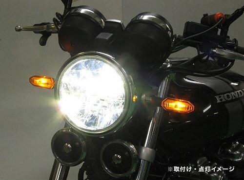 プロテック LBH-H09 CB1100RS['17~'19 2BL-SC65]用 LEDマルチリフレクターヘッドライトkit 6000K 64007-60