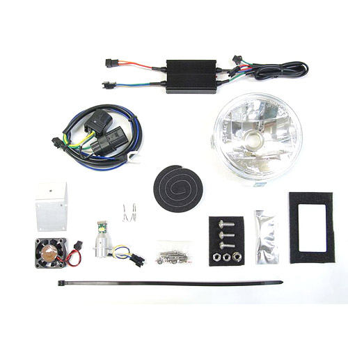 プロテック LBH-H17 クロスカブ50['18~ AA06]用 LEDマルチリフレクターヘッドライトkit 6000K 64009-60