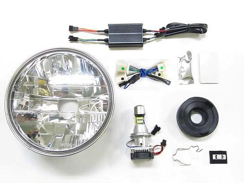 プロテック LBH-H10 CB1100EX['17~'19 2BL-SC65]用 LEDマルチリフレクターヘッドライトkit 3000K 64010-30