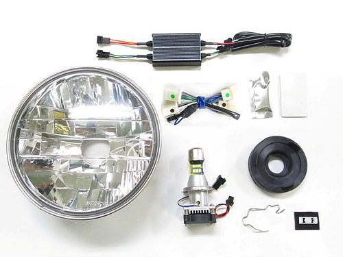 プロテック LBH-H09 CB1100EX['17~'19 2BL-SC65]用 LEDマルチリフレクターヘッドライトkit 6000K 64010-60