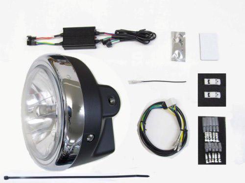 プロテック LBH-H22 タイムセール モンキー125 モンキー125ABS 通販 '18~ 3000K LEDマルチリフレクターヘッドライトkit 用 2BL-JB02 64011-30
