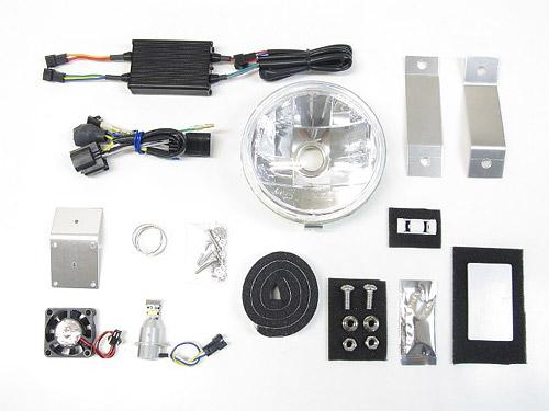 プロテック LBH-H26 スーパーカブC125['18~ JA48]用 LEDマルチリフレクターヘッドライトkit 3000K 64012-30