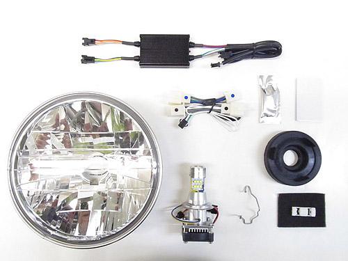 プロテック LBH-H27 CB1300SF['18~'20 2BL-SC54]用 LEDマルチリフレクターヘッドライトkit 6000K 64013-60