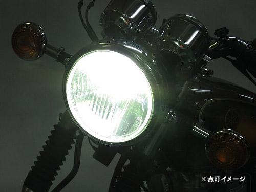 プロテック SR400 [85~19 RH16J / RH03J / RH01J / 1JR]用 LEDヘッドライトバルブキット LB4-SR6 H4Hi/Lo 6000K 65060-60