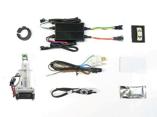 プロテック Z1000 / Z800 / Z250用 LEDヘッドライトバルブキット LB7W-KZ H7 Hi/Lo 6000K ※Hiビーム側専用 65061