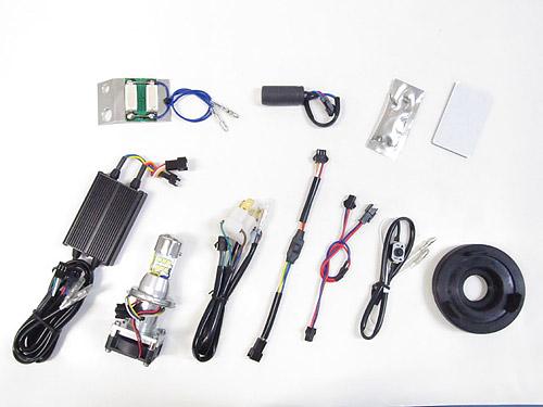プロテック スーパーカブ110['12-'17 JA10]専用 Hi-Lo同時点灯LEDヘッドライトバルブキット LB4HL-SC HS1 Hi/Lo 6000K 65072