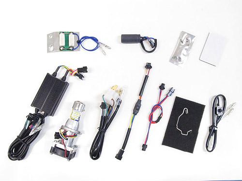 プロテック クロスカブ110['13-'16 JA10]専用 Hi-Lo同時点灯LEDヘッドライトバルブキット LB4HL-CC HS1 Hi/Lo 6000K 65073