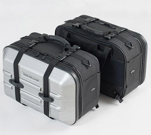 TANAX(タナックス) ツアーシェルケース2 ヘアラインシルバー MFK-249