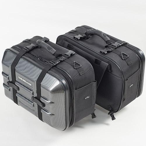 TANAX(タナックス) ツアーシェルケース2 カーボン柄 MFK-250