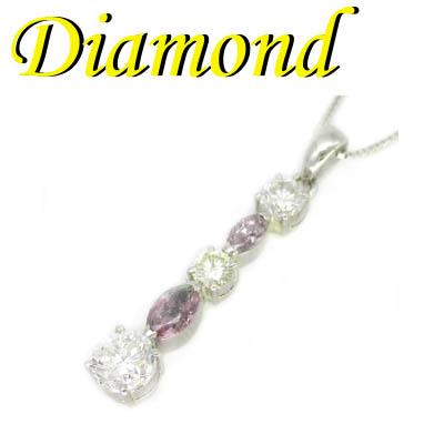 ◆ Pt900 プラチナ デザイン ペンダント&ネックレス ダイヤモンド 1.65ct(1-1910-02003 ASDU)