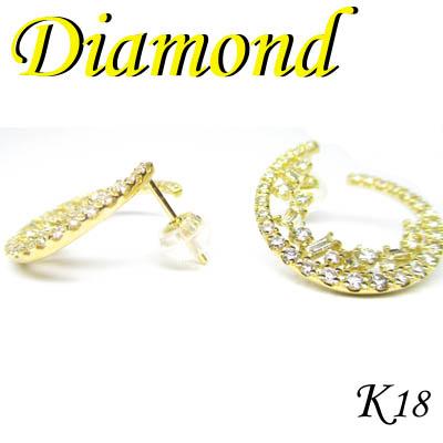 1-1703-07001 IDZ ◆ K18 イエローゴールド ダイヤモンド ピアス