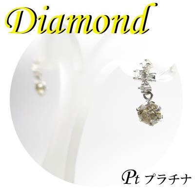 ◆ Pt900 プラチナ ダイヤモンド デザイン ピアス(1-1501-06018 GDZ)