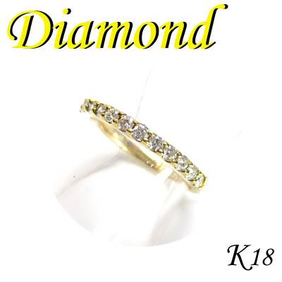 1-1204-04020 TDS ◆ K18 イエローゴールド エタニティ リング ダイヤモンド 0.30ct 11号