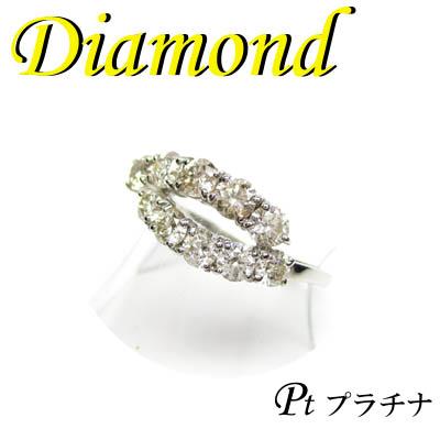 1-1401-07010 ZDT ◆ Pt900 プラチナ リング  スイート10 ダイヤモンド 11号