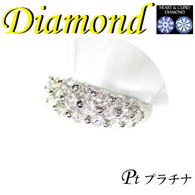 1-1606-03059 IDZ ◆ Pt900 プラチナ リング H&C ダイヤモンド 1.00ct 11号