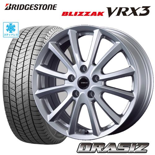 スタッドレスタイヤ ホイール 新品4本セット205 65R16 205 BRIDGESTONE BLIZZAK 輸入 VRX3 ブリヂストン ブリザックVRX3 KOSEI 注文後の変更キャンセル返品 CRASIZ VS6 エスティマ カローラクロス CX-3 シルバー カムリ 114 ヤリスクロス 5 クレイシズVS6 タイヤ付ホイール4本セット ヴェゼル 6.5-16