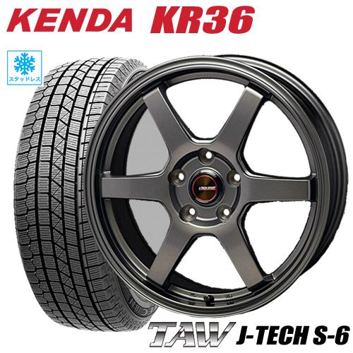 スタッドレスタイヤ ホイール 新品4本セット175 65R15 2021年製 175 KENDA 低価格化 KR36 ICETEC NEO アイテム勢ぞろい ケンダKR36 TAW シエンタ S-6 5 ジェイテックS-6 タイヤ付ホイール4本セット トライアルファ アイステックネオ 6.0-15 100 J-TECH