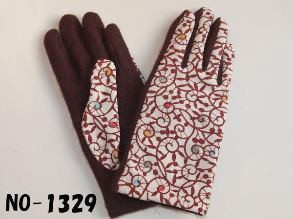 手袋 型小紋染 手袋 各3種■三橋工房