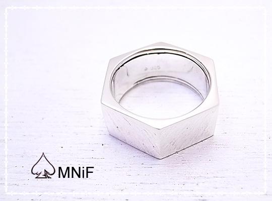 【送料無料】-MNiF(ムニフ)- Nut Ring SV925 アクセサリー シルバーリング ハンドメイド r1300-005