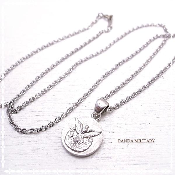 レディース防衛大学校 ネックレス PANDA MILITARY ミリタリージュエリー☆ 自衛隊