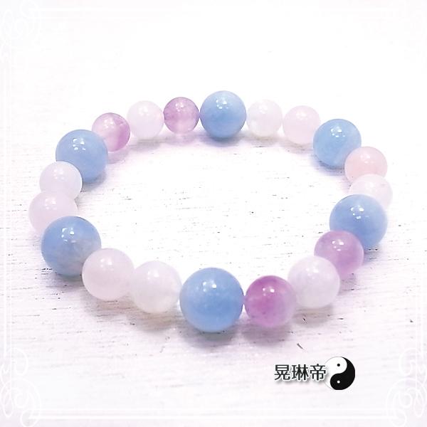【晃琳帝】 プリンセスマーメイドブレスレット 天然石ブレスレット パワーストーン de-72-kr-15