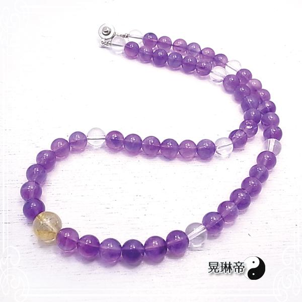 【晃琳帝】 癒しと豊かさネックレス ネックレス 天然石 パワーストーン de-72-kr-20