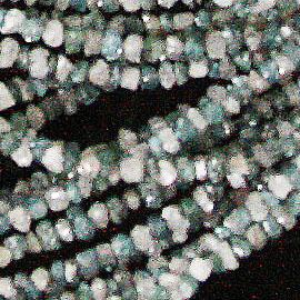 ダイヤモンドMIX 【カットビーズ】 約2.5x1.2mm《1連 約40cm》 天然石