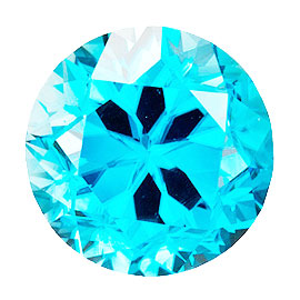カラーダイヤモンド 【ラウンドカット】 ルース アクアブルー 3.3mm 天然石 アクセサリー diac-aqb-33