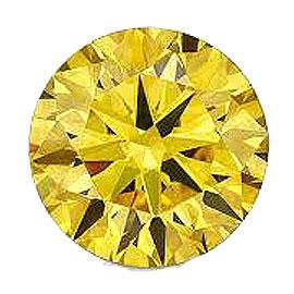 カラーダイヤモンド 【ラウンドカット】 ルース カナディイエロー 3.3mm 天然石 アクセサリー diac-cdy-33