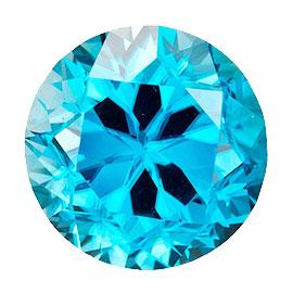 カラーダイヤモンド 【ラウンドカット】 ルース スカイブルー 2.8mm 天然石 アクセサリー diac-skb-28