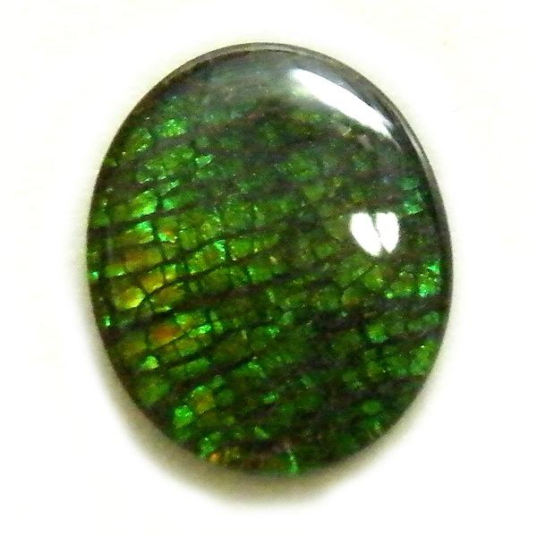 アンモライト(Ammolite) 1点限定 トリプレットルース 約9x11mm 2.44ct 裸石 ルース アンモナイト