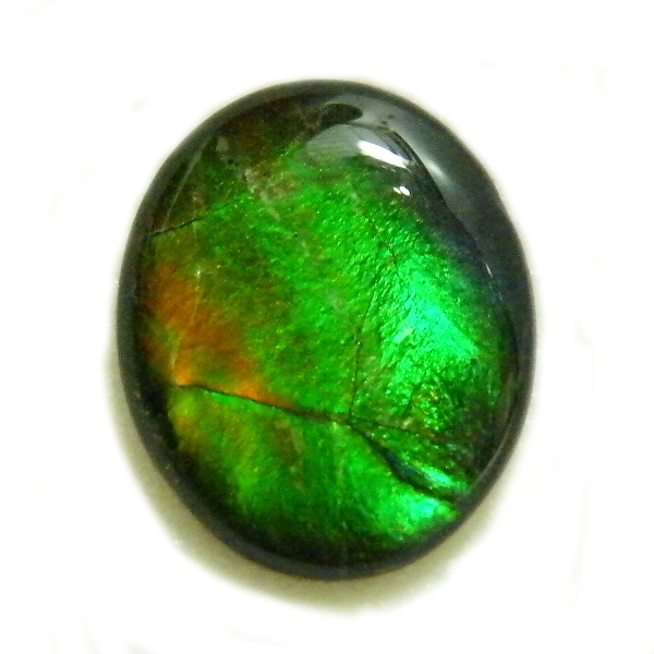 アンモライト(Ammolite) 1点限定 トリプレットルース 約10x12mm 2.989ct 裸石 ルース アンモナイト