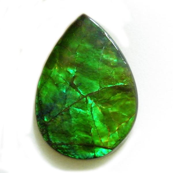 アンモライト(Ammolite) 1点限定 トリプレットルース 約15x22mm 10.72ct 裸石 ルース アンモナイト