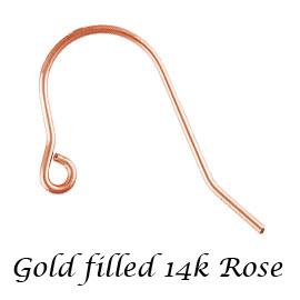 高級感のあるゴールドフィルドパーツ 金層が厚いのではがれにい 珍しいピンクカラーです お手頃な価格でゴールドをお楽しみください 14Kピンク 新作からSALEアイテム等お得な商品満載 ゴールドフィルド ローズ 金具 L20mm ピアスフックパーツ アクセサリーパーツ 約 流行のアイテム 14KGF 《5ペア》K14GF