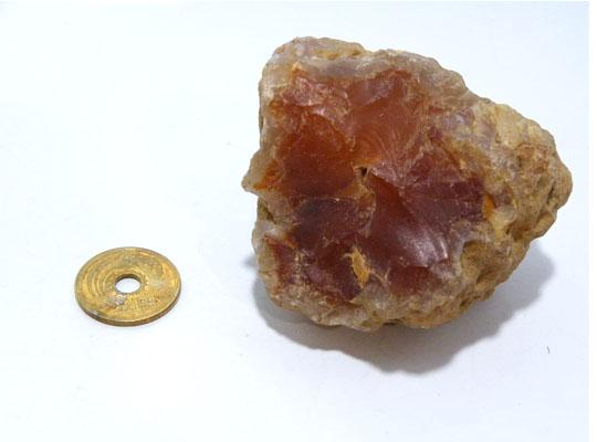 【1点もの】北海道産瑪瑙 アゲート 原石 コレクション パワーストーン スピリチュアル ヒーリング gs-cs-3004