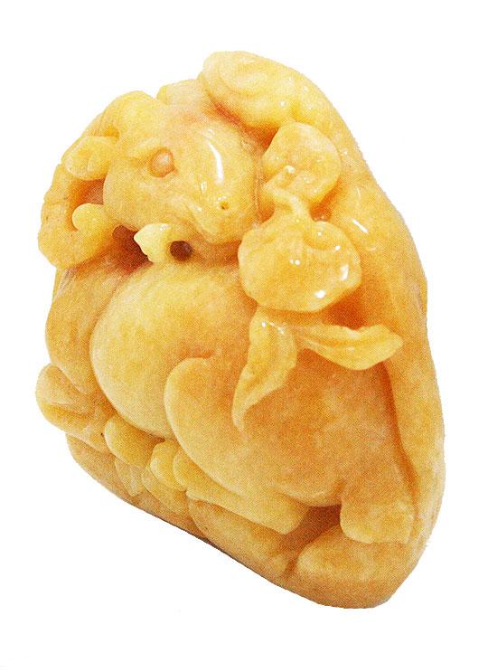 【新発売】 【送料無料 ヒーリング】天然石 原石 イエロージェイド翡翠