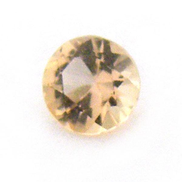 1点限定 自然の恵みからなる神秘的なパワーストーン 世界中のコレクターを魅了する鮮やかで幻想的な天然宝石です インペリアルトパーズ ついに再販開始 ラウンドカット 価格 裸石 ルース 約3.2mm 0.1ct