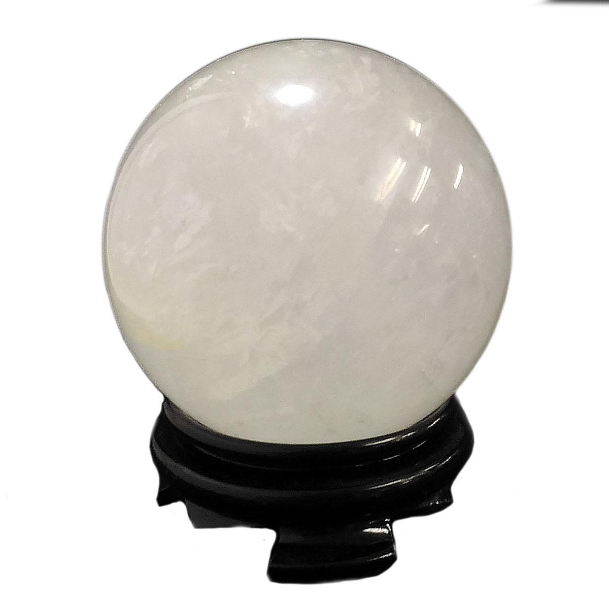 【1点限定】 ホワイトカルサイト/丸玉/約90mm 天然石 原石 パワーストーン スピリチュアル ヒーリング コレクション