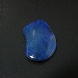 【送料無料】天然石 ブラックオパール(Black Opal)] 原石1点もの(ソーティングあり) 約6ct/20.83x14.26x3.26mm アクセサリー パワーストーン スピリチュアル ヒーリング コレクション gs-sp-710