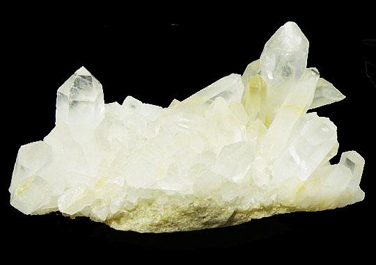 水晶 クォーツ 【クラスター1点もの】 約600g 約158x90x70mm 天然石 原石 パワーストーン スピリチュアル ヒーリング コレクション gs-sp-835