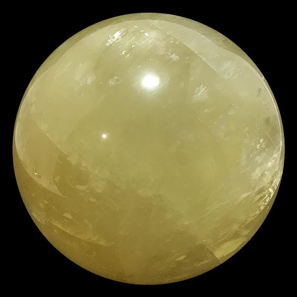 カルサイト 丸玉 約110mm /スピリチュアルインテリア パワーストーン 磨き石 一点もの