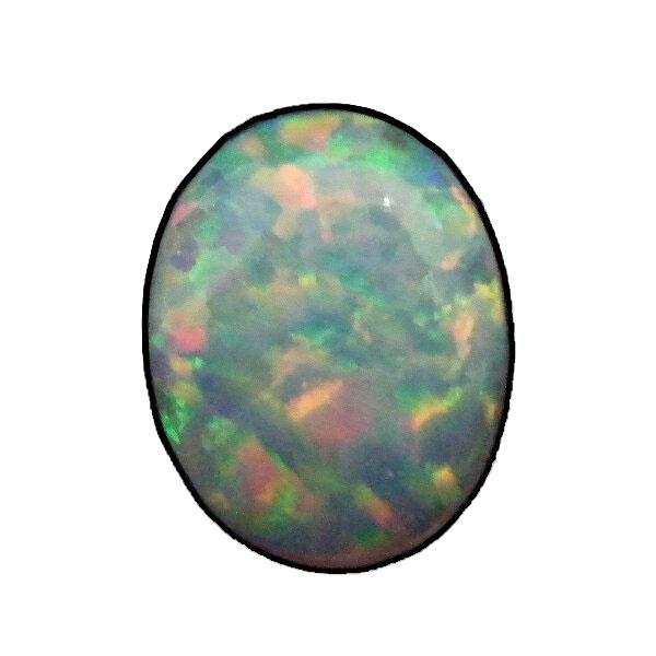限定 人工ルース 人工 合成 オパール 評価 お気に入 オーバルカボション ルース 裸石 7x9mm 天然石
