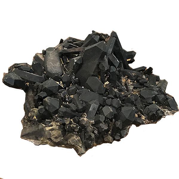 日本最大級 モリオン黒水晶【クラスター 1点もの】/大きめ コレクション 約300x300x120mm 天然石【クラスター パワーストーン スピリチュアル 約300x300x120mm ヒーリング コレクション, 野津原町:36127256 --- pokemongo-mtm.xyz
