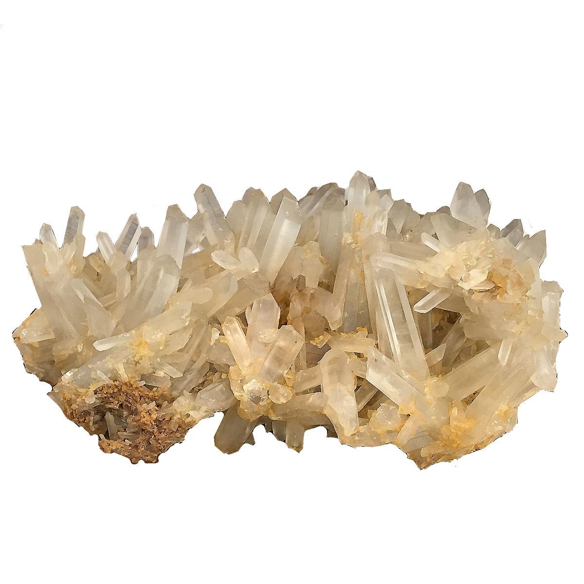 クォーツ水晶 【クラスター 1点もの】/大きめ 約360x240x170mm 天然石 パワーストーン スピリチュアル ヒーリング コレクション