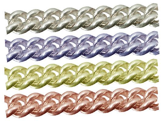シルバーチェーン キヘイチェーン 完成品(ネックレス) サイズ(幅 約:2.9mm 長さ:60cm) 1本 シルバー925 無垢