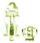 【10個】シルバーパーツ イヤリングパーツ イヤークリップセット サイズ(約 L18xW7mm) 10ペア販売 sv925 イエローロジウムカラーコーティング
