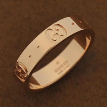 グッチ GUCCI / リング サイズ刻印 15幅 0.4cm厚み 0.1cm #152045-J8500/5702/15