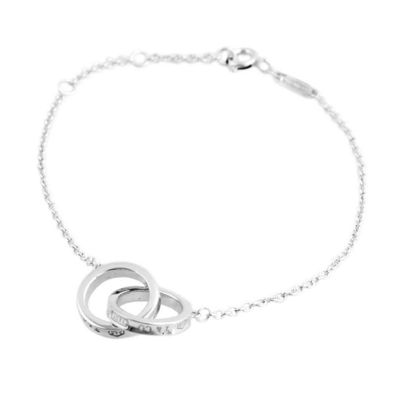 76653fcfd Tiffany Tiffany & Co. / 1837 interlocking grip bracelet SS #35505903 ...