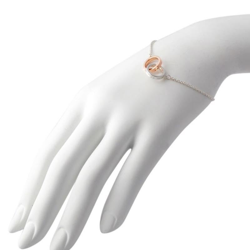911e64d71 Tiffany Co 1837 Double Interlocking Grip Bracelet 37088412
